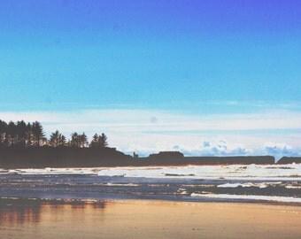 Oregon Lighthouse Shore Photo