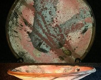 Tom Radca Stoneware Plate (A11)