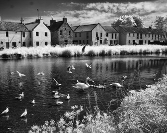 East Lothian Scotland Infrared Photography