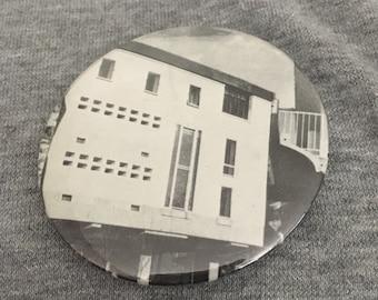 55mm Brutalist Architecture Badge