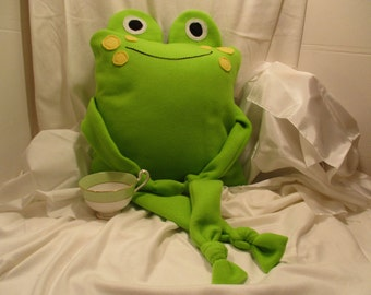 Frog Cover Pillow