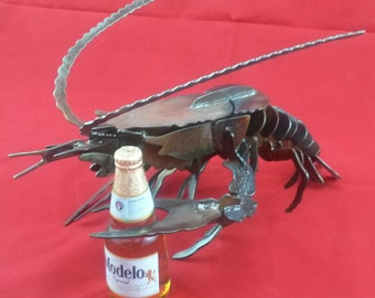 Lobster, 3D metal art / home decoration / metal sculpture