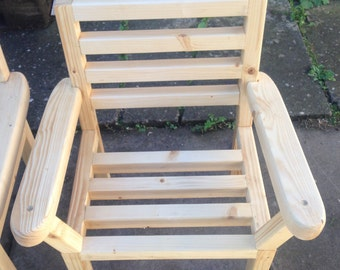 Kids chair, Outdoor, Wooden chair, Very strong