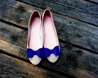 Purple bows - shoe clips Manuu