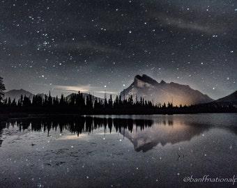 Vermillion Lakes Fine Art Photography Print