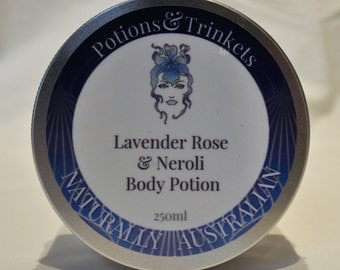 Lavender, Rose & Neroli Body Potion     250ml