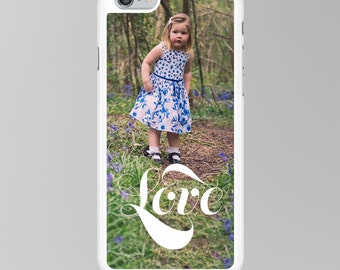 Love Photograph Phone Case, Instagram, Personalised, Custom, Photo iPhone Cover, Cell Phone Cover, iPhone 6S Case, SE, 5S, 5C, 4S
