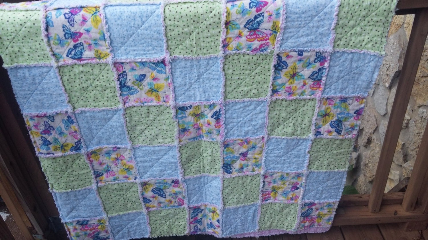 Rag Quilt Patterns For Twin Bed : twin flannel rag quilt