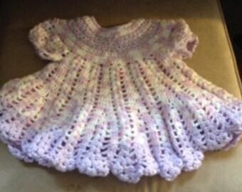 Lacy Lilac Dress