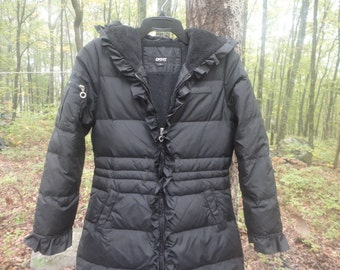 Donna Karan Down Filled Coat Junior L Size