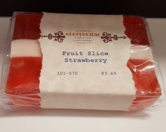 Soap, Glycerin Strawberry (101-570)