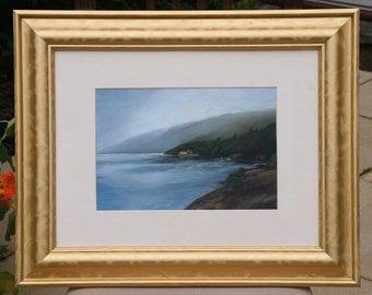 Acrylic Landscape Painting - Rowardennan, Loch Lomond, Scotland