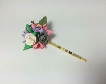 Hair pin for flower girls