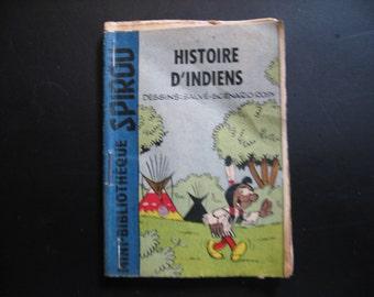 An old mini booklet: Histoire D