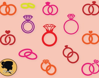 """Shop """"ring svg"""" in Drawing, Painting & Writing Supplies"""