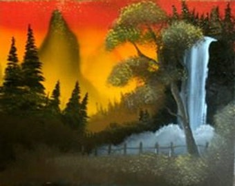 Lofty Waterfall
