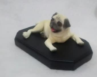 Dog pug handmade