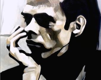 Nick Cave Portrait Print LARGE