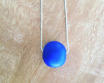 Polymer Clab Bead Necklace