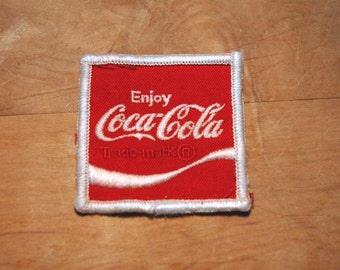 Coca Cola patch - Enjoy Coca Cola - Medium patch