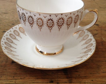 Queen Anne Cup and Saucer