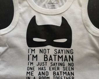 Toddler Batman Tank