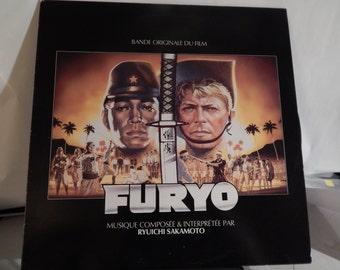 "FURYO (Good Morning Mr Lawrence) (1983, Ryuichi SAKAMOTO)  Rare 12"" Mint Vinyl Lp Soundtrack. David Bowie film collectible item; nice cover"
