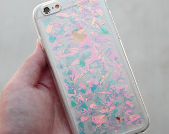 Holographic Hologram Flake iPhone 5/6/6 Plus Case