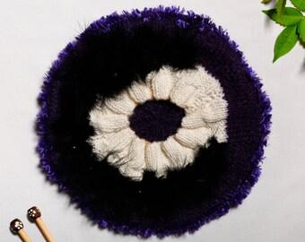 Hand made 100% Mohair beret