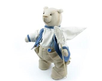 Bear - Plush doll by Times Hemp Company. 100% Organic Hemp. Handmade.