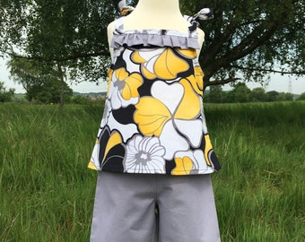 Lois - Retro Cami Top and Trousers *end of summer sale *