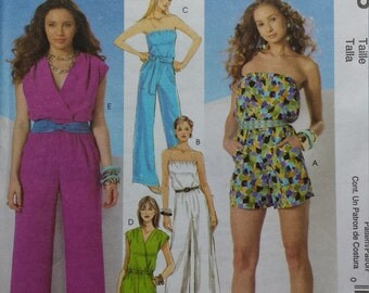 McCalls 6083 Jumpsuit Sewing Pattern 14-20