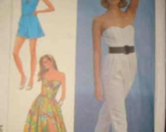 Sewing Pattern - 8123 - Simplicity, Size 11 - New Uncut