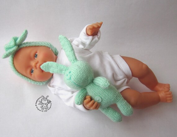 Amigurumi Toys For Babies : Toy for sleep. Bunny for small babies. Amigurumi Bunny.
