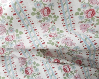 very nice fabric former with garlands of flowers