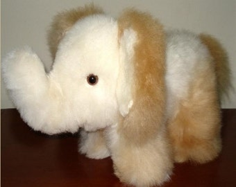 Stuffed Elephant,