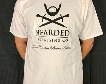 Large Bearded Assassins T-shirt