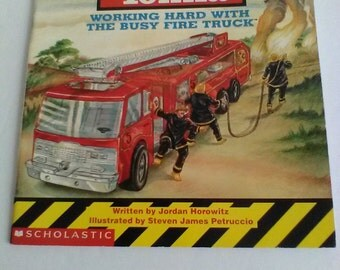 Tonka: Working Hard with the Busy Fire Truck 1993 Childhood Memories