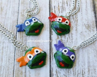 Ninja Turtle Necklace