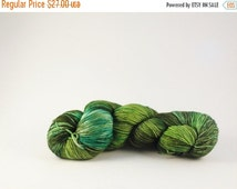 Sea Grass - Hand Dyed Fingering Weight Yarn