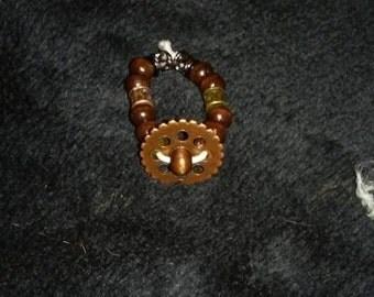 Steampunk Elastic Ring