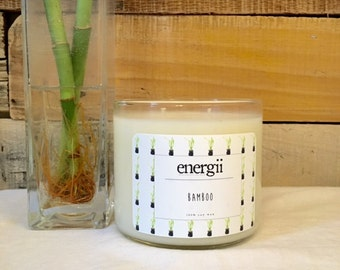 Bamboo Soy Wax Candle