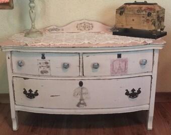Antique Paris Dresser