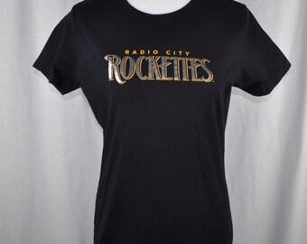 Radio City Rockettes Women's Fitted  T-shirt Tee Sz XL