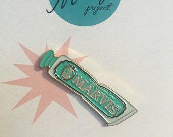Marvis Toothpaste Enamel Pin