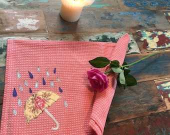 Umbrella 100% Cotton Tea Towel
