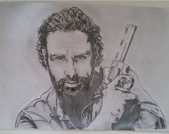 Rick Grimes aus The Walking dead