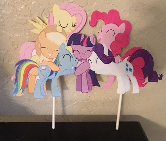 How To Make A Pony Cake Topper