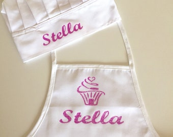 Personalized Apron and Chef Hat