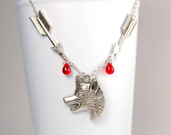 Werewolf Hunter Necklace - Teen Wolf Inspired - Argent Family Heirloom